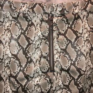 H&M Skirts - Snake print skirt